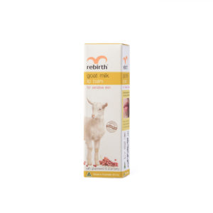 Rebirth Goat Milk Lip Balm with Grape Seed & Acai Berry (With Sunscreen SPF15+)