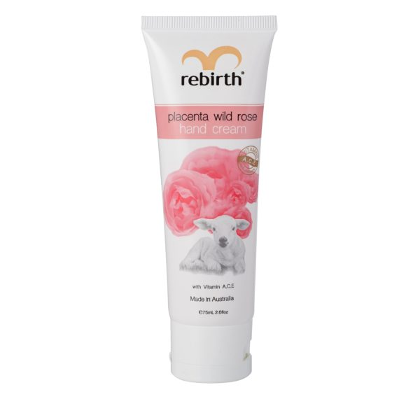 Rebirth Placenta Wild Rose Hand Cream With Vitamins A,C,E