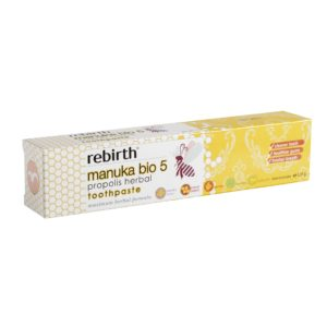 Rebirth Manuka Bio 5 Propolis Herbal Toothpaste