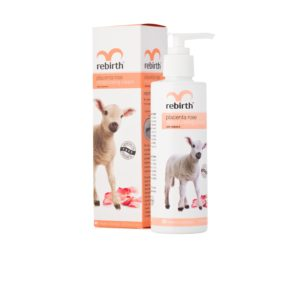 Rebirth Placenta Rose Moisturising Cream with Vitamin E