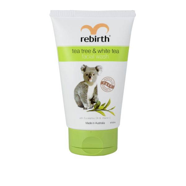 Rebirth Tea Tree & White Tea Facial Wash